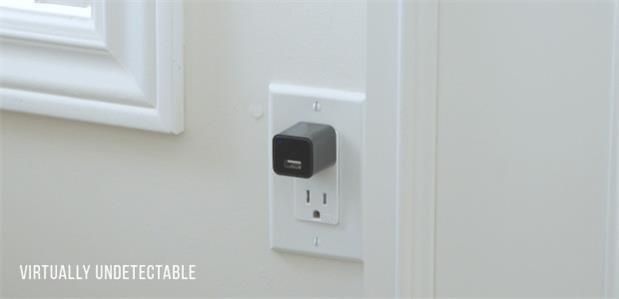 你以为这就是USB充电头?它可内置了一个摄像机