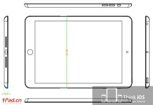 iPad mini设计草图曝光!各种猜测不断