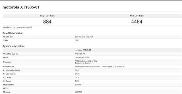 疑似新Moto X曝光 硬件配置只能算中端机