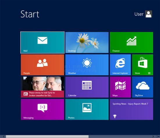 Windows开始菜单的演变进程