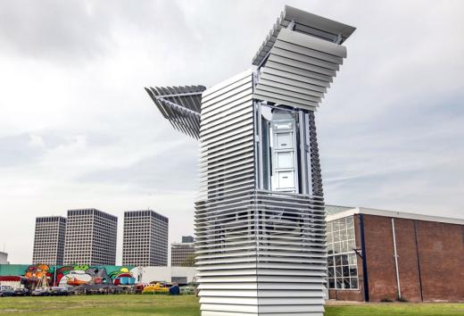 六个疯狂创意改变世界:用7米高的空净治雾霾