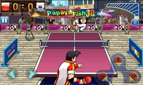 国球为国争光 Android游戏疯狂乒乓球
