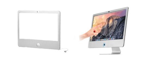 想把iMac变成触屏电脑?装上这个框架就可以
