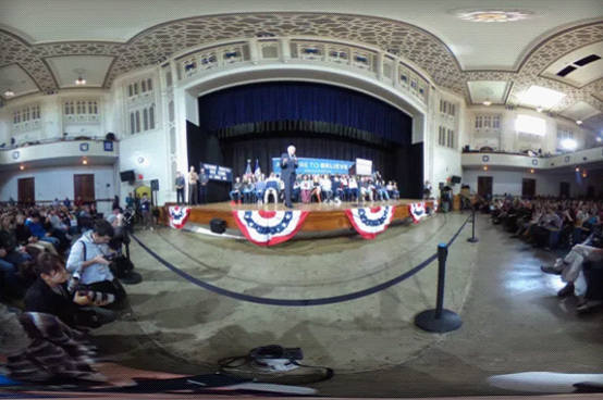 纽约时报要用VR来转播是2016年美国大选