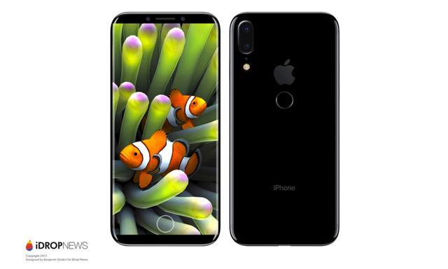 传新款iPhone改为后置指纹解锁 竖向排列双摄像头