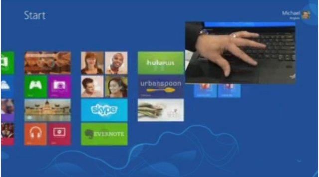 微软宣布非触屏PC升级Win8方案 触控板是关键