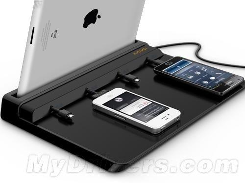 超强便携充电站:同时给5个设备充电