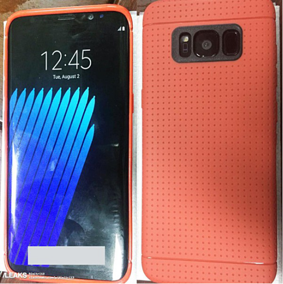 三星Galaxy S8新谍照曝光 机身有