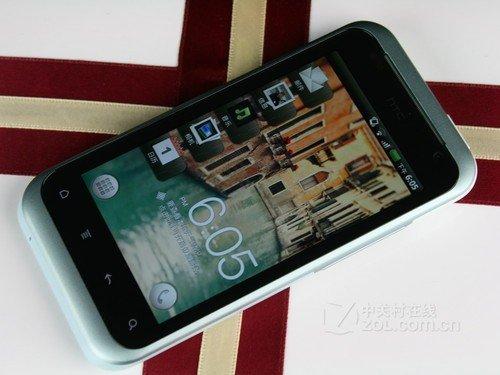 HTC 倾心 蓝色 正面图