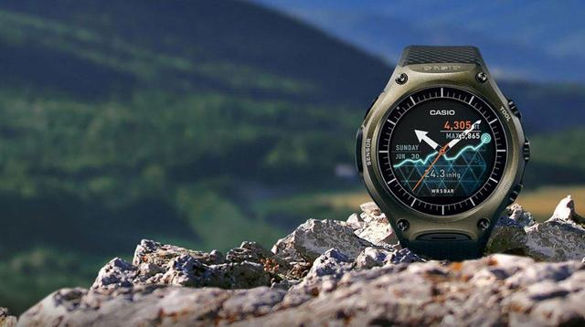 卡西歐首款智能手表月底上市 最長待機一個月_0