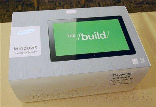 三星Windows8平板曝光 Intel i5处理器