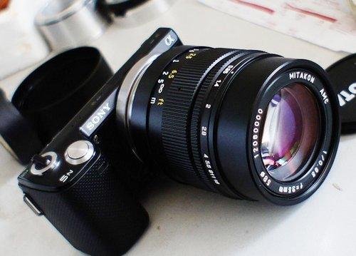 国产NEX镜头Mitakon 35mm f/0.95上市