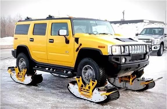 这个神器,让你的爱车秒变雪地战车!