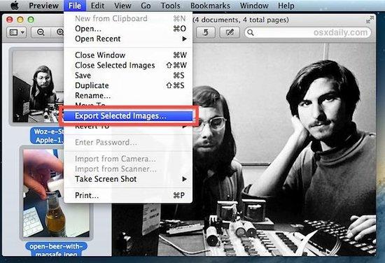最简单的OS X批量转换图片方法.docx