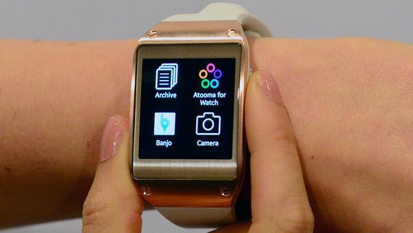 三星先行一步 智能手表等将有指纹识别功能
