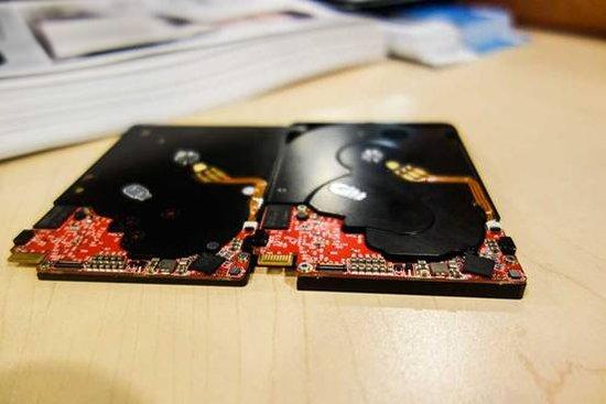 西部数据 5mm混合硬盘入手:真的是很薄
