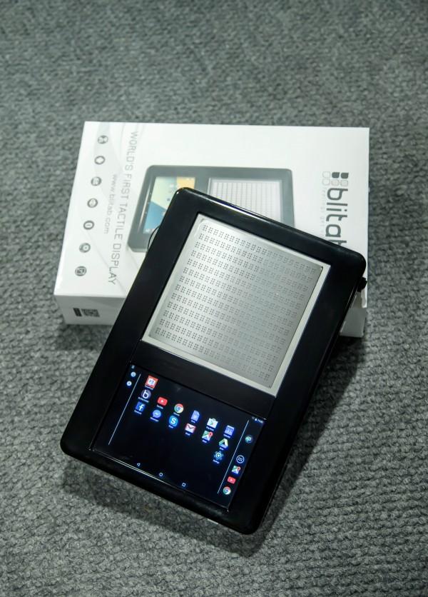 全球首款盲文平板:它有真的可以摸的屏幕