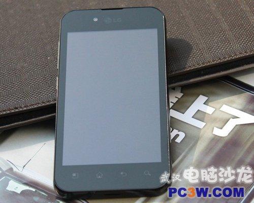 靓丽实惠机LG-P970武汉兜里玩特价1280
