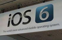 会场内的iOS 6横幅