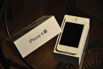 美版白色iPhone 4S真机