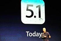 iOS 5.1已经可以更新