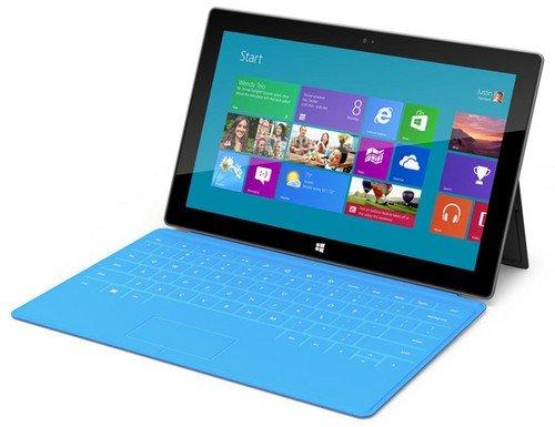 传首批微软Surface平板仅支持WiFi网络