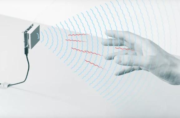 谷歌微型雷達能識別物體 甚至包括身體部位
