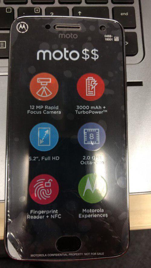 Moto G5 Plus清晰谍照出现 并不支持模块化配件