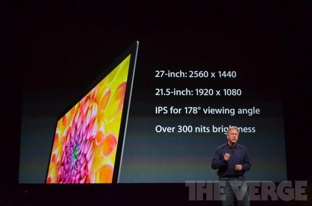 苹果发布全新iMac一体电脑 厚5mm较上代薄80%