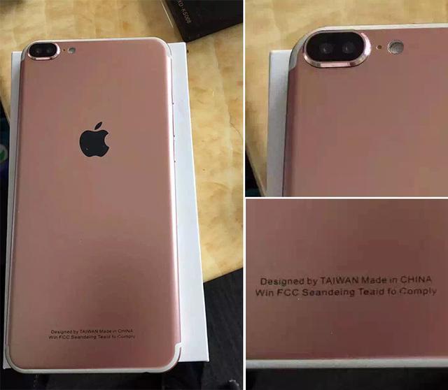 iPhone 7 Pro配双摄像头亮相 总感觉哪里不对