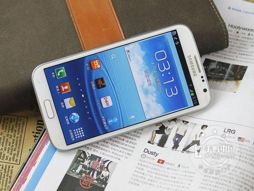 2GB运行内存四核 Galaxy Note II热卖
