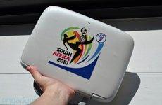HP Mini 100e本南非世界杯主题版实机