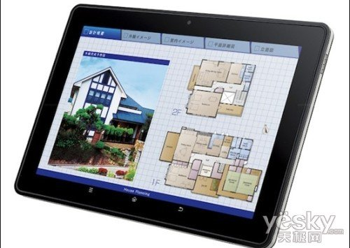 夏普推NFC平板RW-T110 针对企业用户