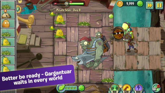 植物大战僵尸2升级 增加新场景地图更加简洁