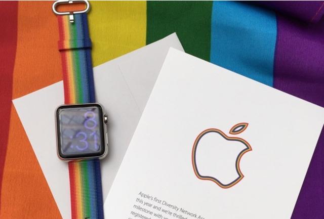 声援同性恋群体 苹果推出彩虹版Apple Watch