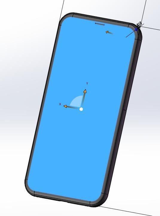 iPhone 8模具设计图曝光 苹果审丑能力又有提升