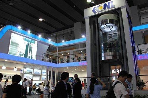 """康力电梯""""闪亮""""2012广州国际电梯展"""