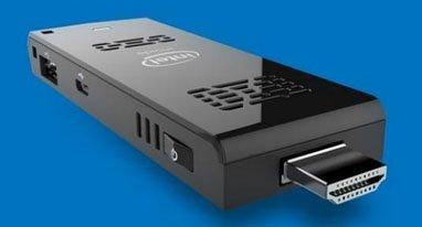 英特尔推出优盘大小迷你PC 可让任何电视变PC