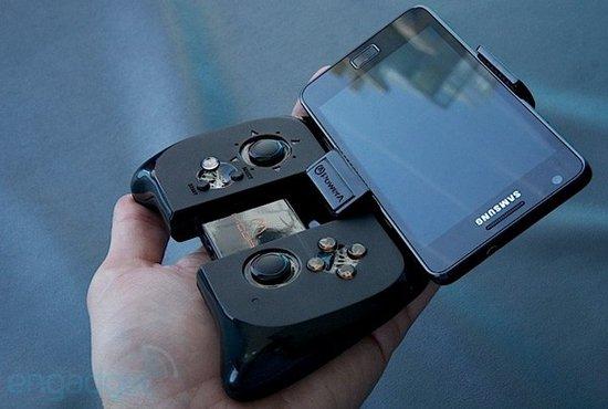 专为android手机设计的游戏手柄 售49.99美元