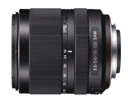紧凑设计 索尼18-135新型套机镜头谍照