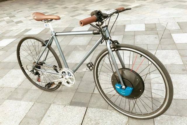 只要60秒这玩意能让单车变电车 电辅续航48千米