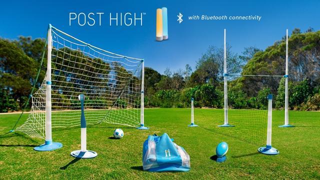 六合一组合伸缩球网 各种球类想玩啥随时随地玩