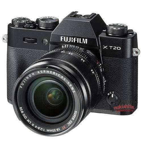 富士X-T20/X100F渲染图曝光 和之前没啥变化