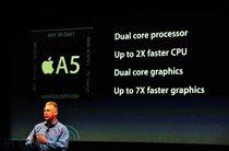 iPhone 4S搭载A5双核处理器