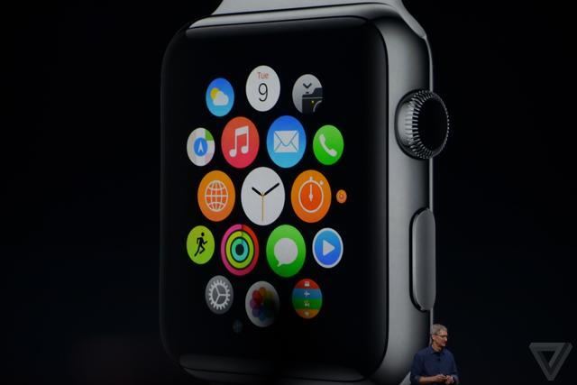 苹果发布Apple Watch:明年上市售价349美元