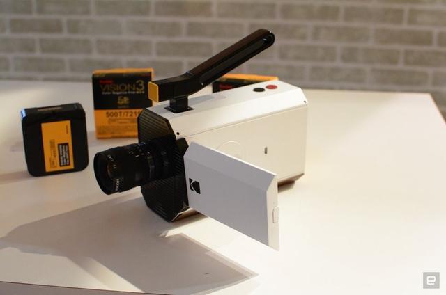 柯达CES发布Super 8相机原型 今年下半年出货