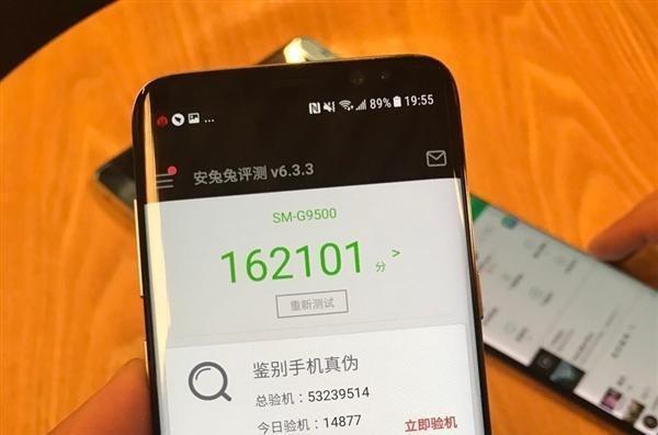 韩版三星S8比国行版S8的跑分高出12000分!