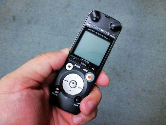 线性高保真 奥林巴斯录音笔LS-3试用