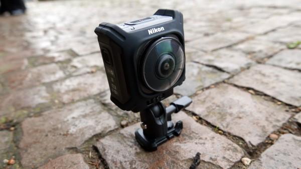 尼康加入运动360度相机混战 新产品看上去不错