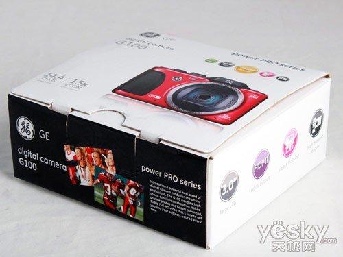 美国的霸气 通用GE G100数码相机评测